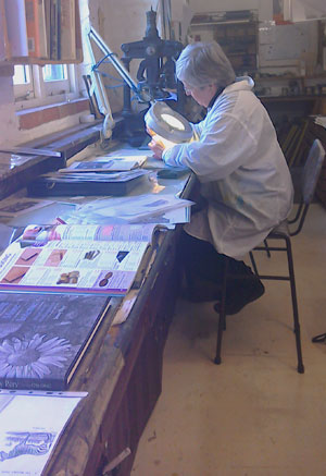 Kath Littler – learn how to do wood engraving